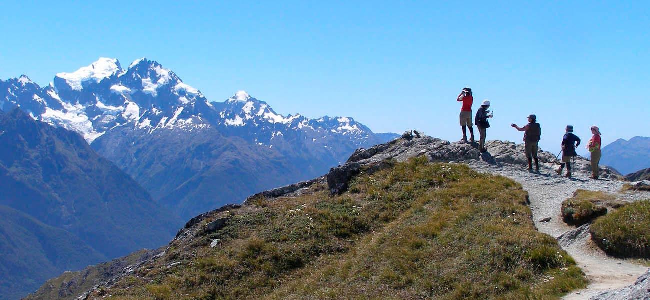 ニュージーランドの山歩き
